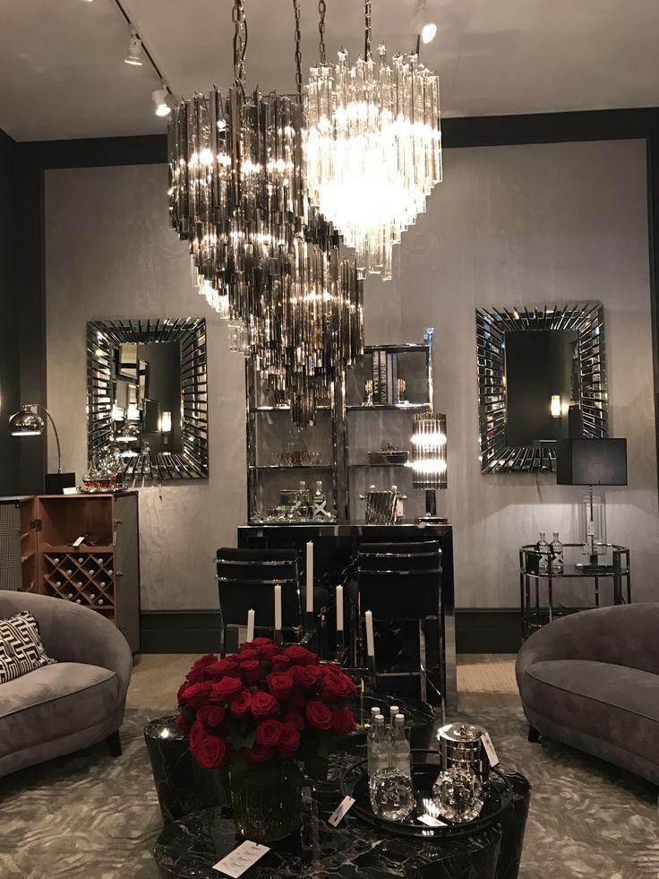 so much glamour on the eichholtz stand at maison et objet. Black Bedroom Furniture Sets. Home Design Ideas