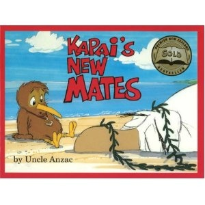 Kapai is a Kiwi bird who wants to learn to fly and his adventures lead him to the beach where he 'flies' over a big albatros called Gooney who is lying on the beach after being battered by a big storm. Then Tamatea comes and takes them to his whare where they meet all his whanau.