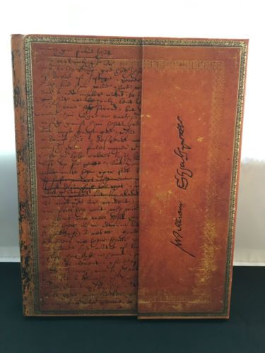 Paperblanks-Embellished-Manuscripts-Shakespeare-Ultra-Wrap-Lined-Journal