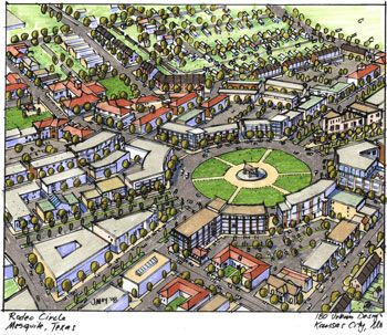 Communities that flow from walkable downtowns to protected green spaces