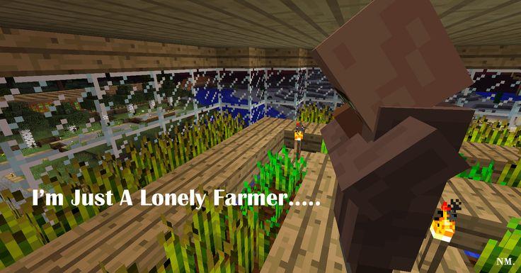 Minecraft Farmer HISHE Quote