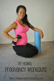 Hey guys! I had a recent reader ask me to post some of my favorite at home workouts to do during pregnancy. I typically love the gym mo...