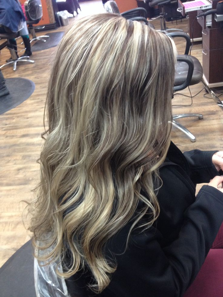 Add A Warm Neutral Brown To Spice Up Platinum Blonde Hair