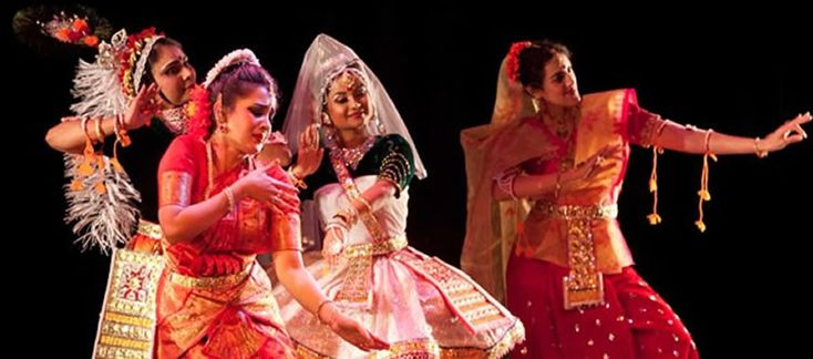 Danzas Clásicas de la India – Manipuri