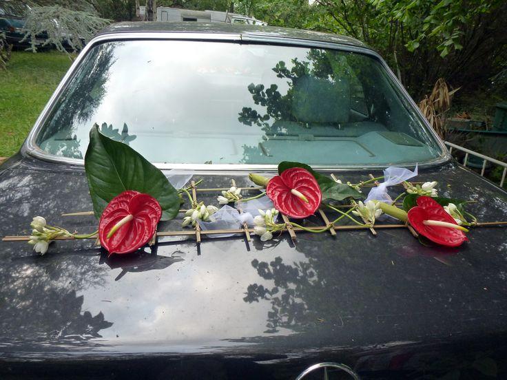 Décoration de voiture arrière