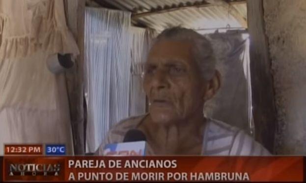 Pareja De Ancianos Sufre De Hambre En Azua #Video
