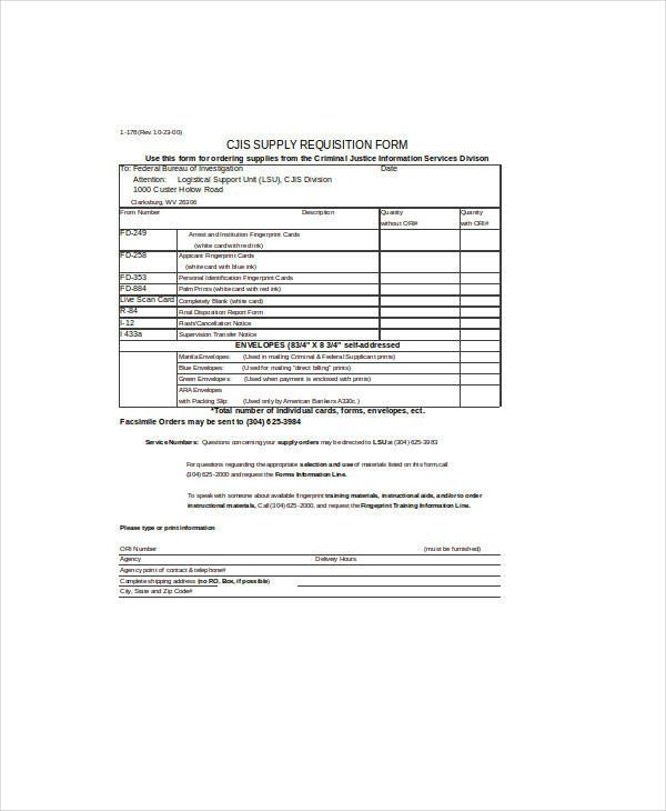 10 Purchase Requisition Form Templates Templates Excel