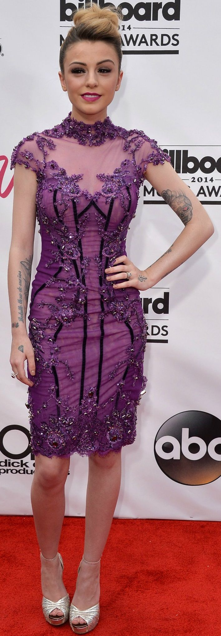 Cher Lloyd at the Billboard Music Awards 2014