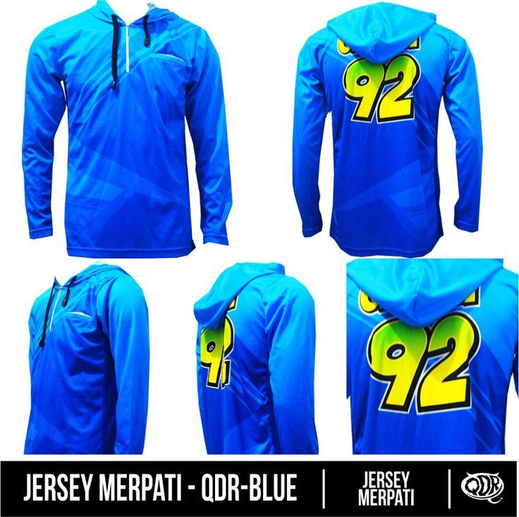 QDR Blue (Jersey Merpati) Bahan: Dry-fit printing: sublimasi untuk pemesanan: BBM 543D3DBB Qdr online shop WA/LINE 081222970120