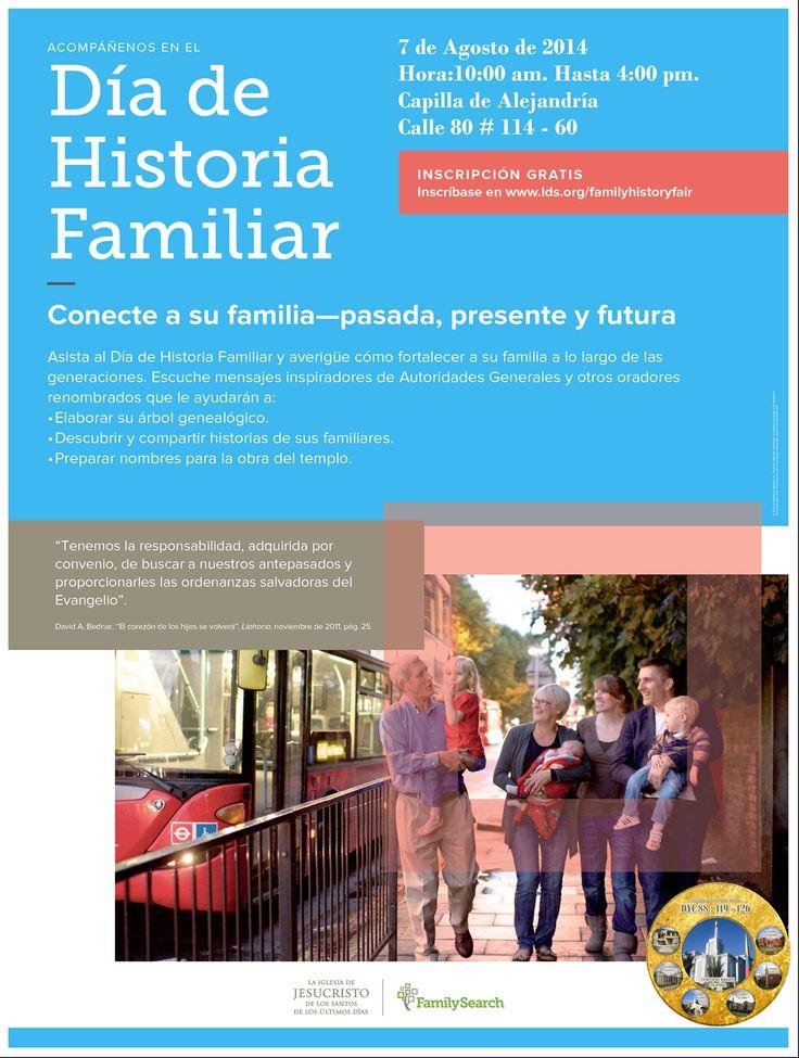 FERIA DE HISTORIA FAMILIAR DE ESTACA