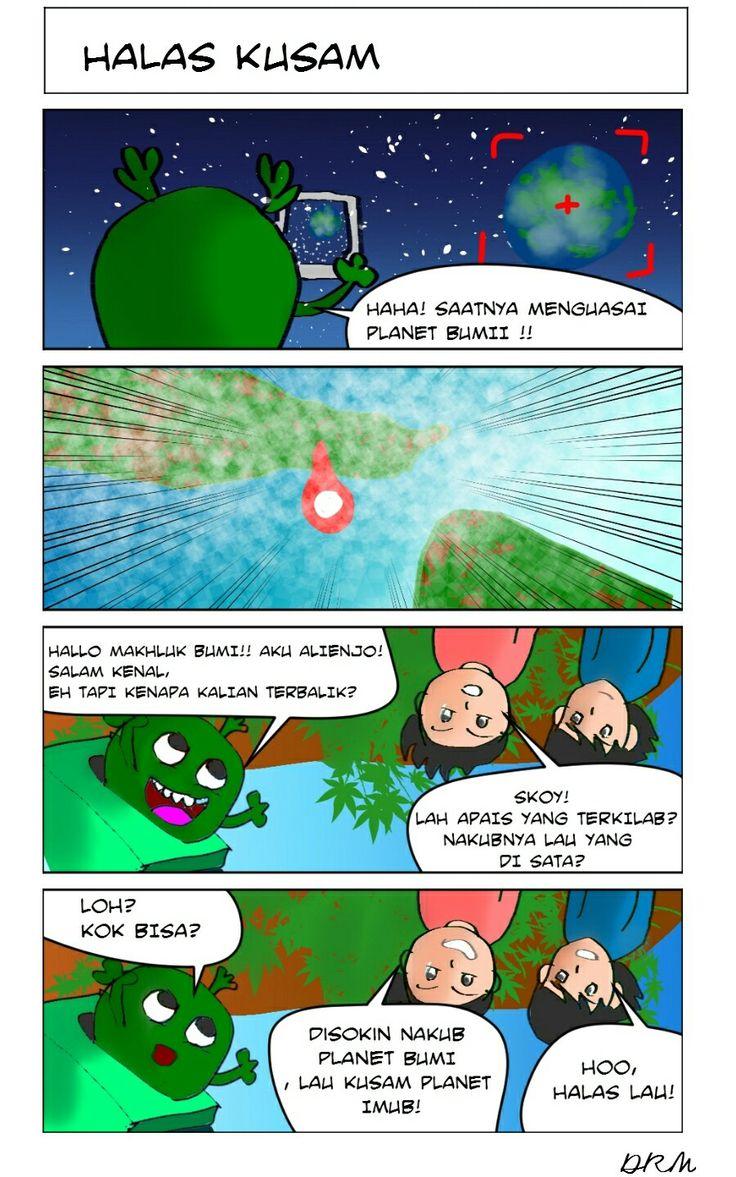 planet Imub #comicstrip #digitaldrawing #comic #artwork #story #planetearth #alien