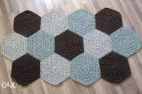 Znalezione obrazy dla zapytania ręcznie robione dywany kwadraty