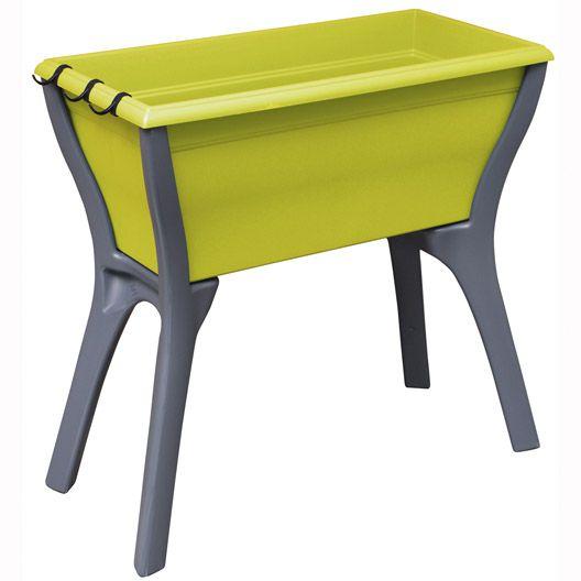 Table potagère de balcon Plant up, 78x75x40 cm