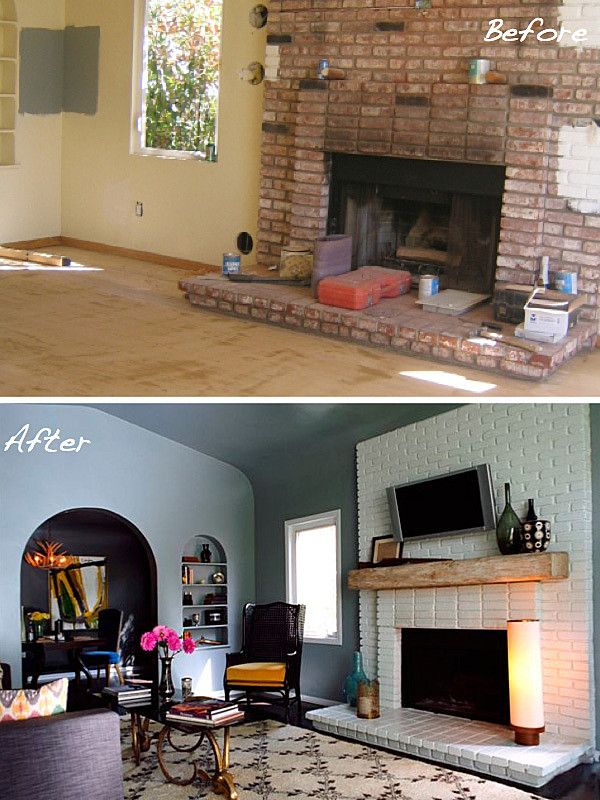 21 best Decorating - Fireplace Makeover images on Pinterest ...