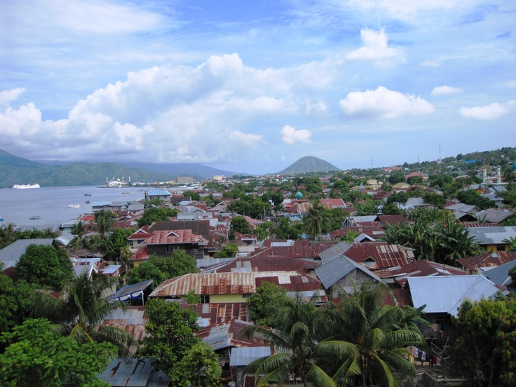 Ternate Indonesia  in the path of totality