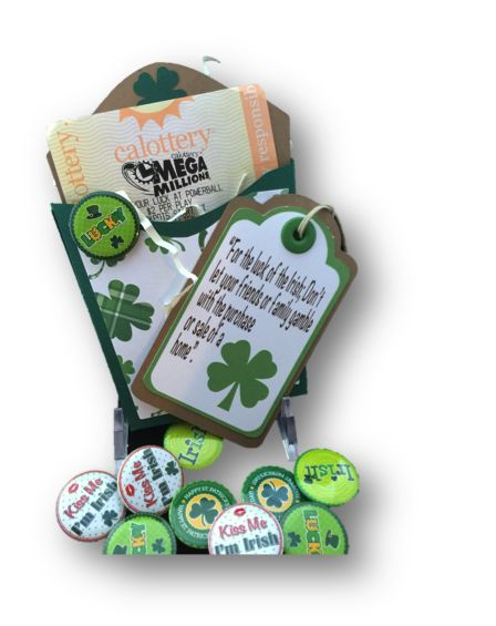 Pop-by Gift, Lotto Ticket For The Luck of the Irish