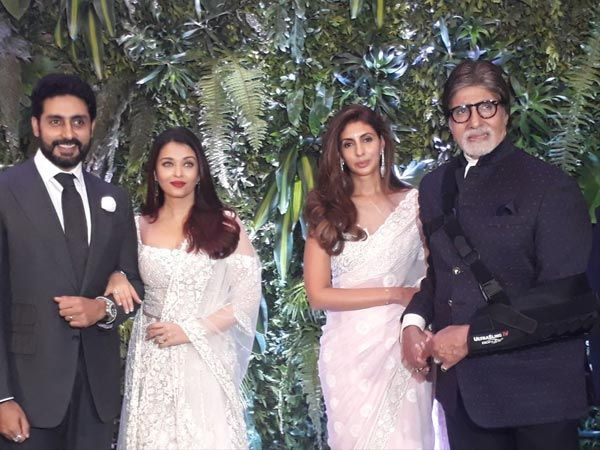 Anushka Sharma and Virat Kohli's grand reception was held in Mumbai recently. The guest list also included the Bachchan family – Amitabh Bachchan, Shweta Bachchan, Abhishek Bachchan and Aishwarya Rai Bachchan. But you will be surprised to know that something strange happened when...