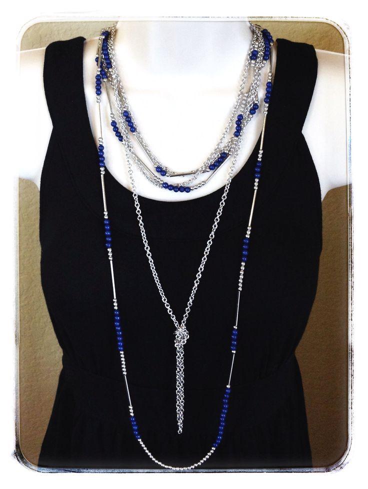 True Blue -- #PremierDesigns #PDCombo Premier Designs Jewelry Collection ShawnaWatson.MyPremierDesigns.com access code: bling