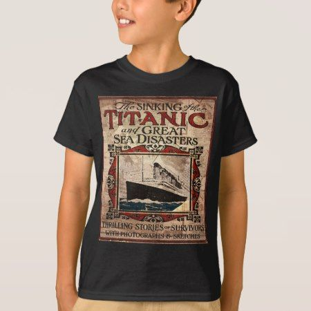 Titanic T-Shirt - tap to personalize and get yours