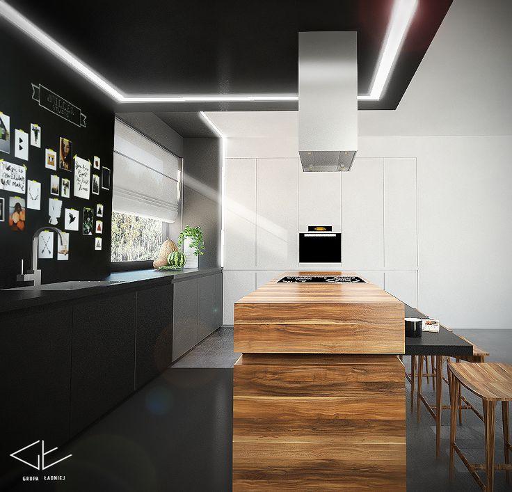 Projekt wnętrza - Kuchnia