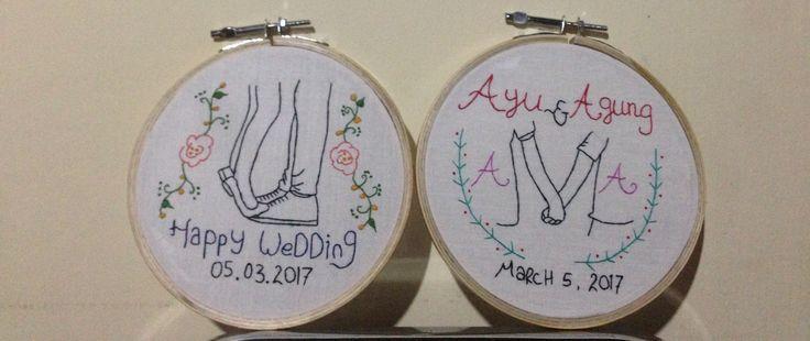 #embroidery #handembroidery #hoop #hoopembroidery #creative #unique #handmade #thread #colourfull #needle #scissors #cotton #padang #bukittinggi #sumaterabarat #indonesia #like4like #happy #gift #wedding #birthday #anniversary #celebration #hobby #pajangan #pajangandinding #pajanganunik #kadopernikahan   order??? please kindly contact me: IG @eltaembroidery WA 085265300210 line eltakamex bbm pin D651C789
