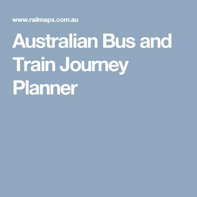 Australian Bus and Train Journey Planner