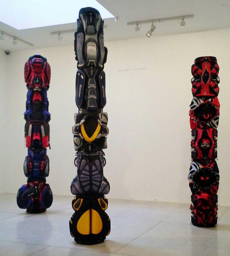 #BrianJungen totem poles at @agotoronto  elevated #contemporaryart exhibit running until Fall 2015!: http://www.thepurplescarf.ca/2015/03/culture-exhibit-getting-ago-elevated.html #culture #toronto #thepurplescarf #melanieps #toronto #PsCulture