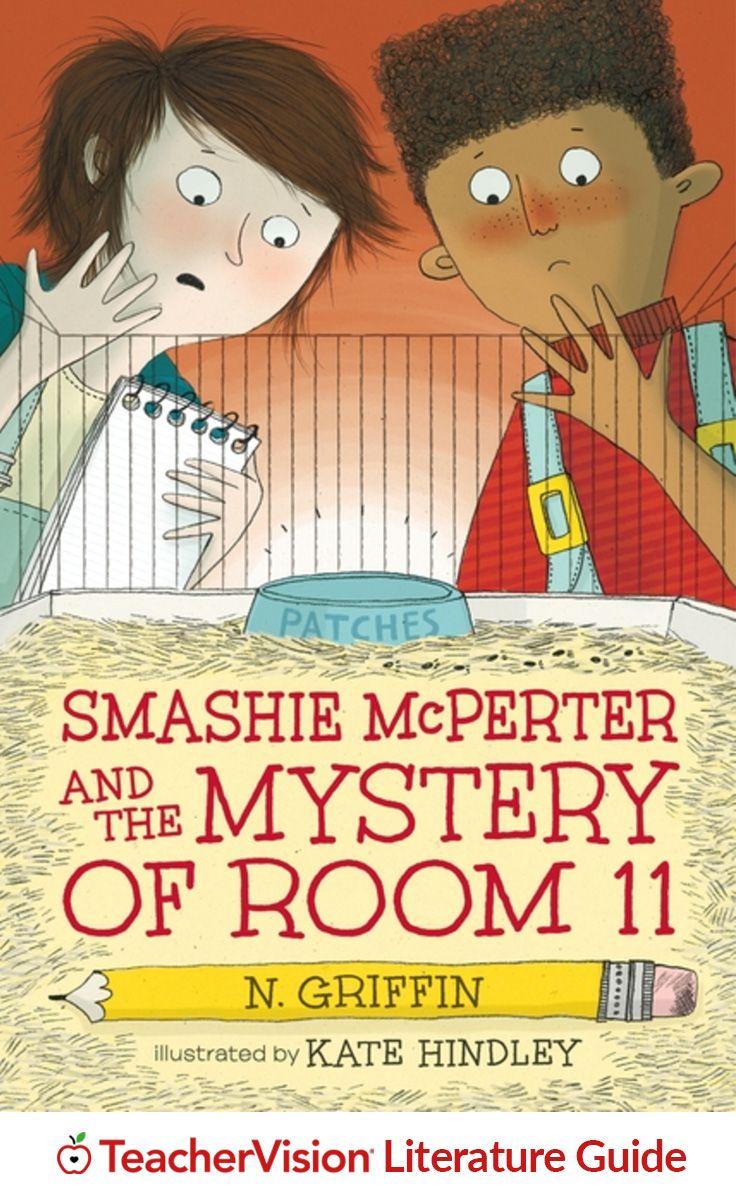 "Smashie McPerter and the Mystery of Room 11 Teacher's Guide: Entice middle-grade readers with humor and mystery in ""Smashie McPerter and the Mystery of Room 11"" by N. Griffin. This printable teacher's guide for the book includes classroom discussion questions, language arts activities, and vocabulary instruction aligned with Common Core anchor standards. (Grades 2-5)"