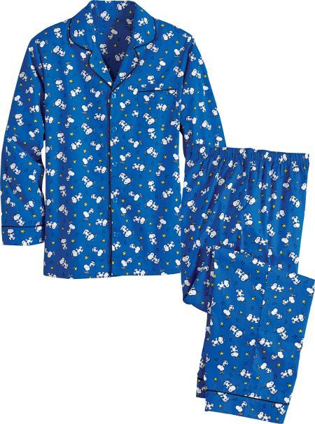 Snoopy and Woodstock Pajamas For Men