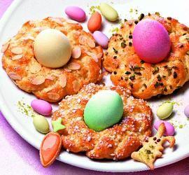 rezept-Bunte Osterkränzchen