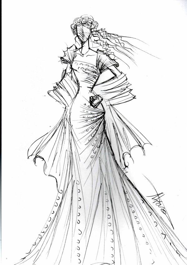 100 Ideas To Try About Wedding Sketches Fashion