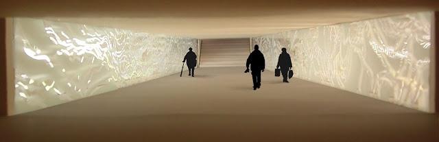 lighting underground wall sculpture plan