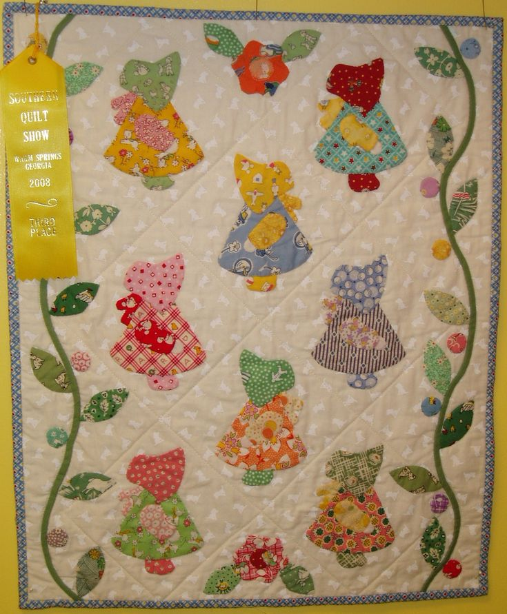 Free Sunbonnet Sue Patterns Downloads Gallery At Sunday