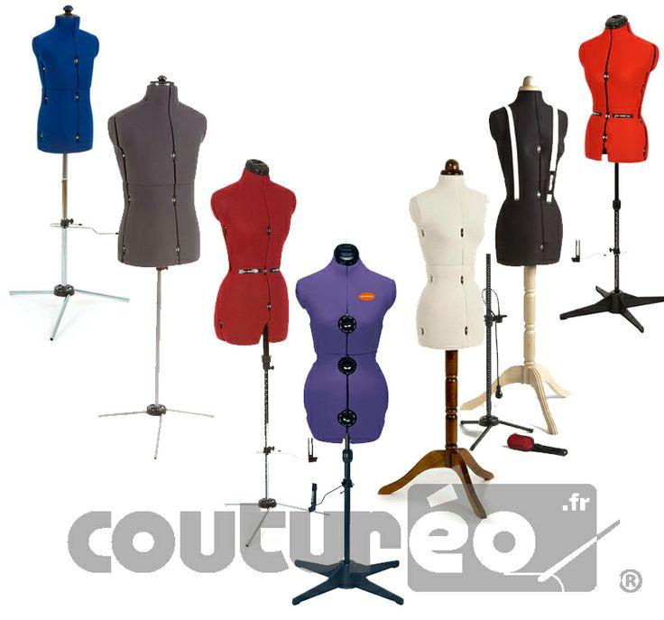 tous les mannequins de couture réglables sont sur www