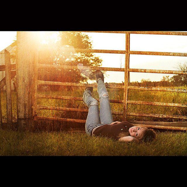 Photo, gate. Now add a wedding dress & a cute pair of boots!!