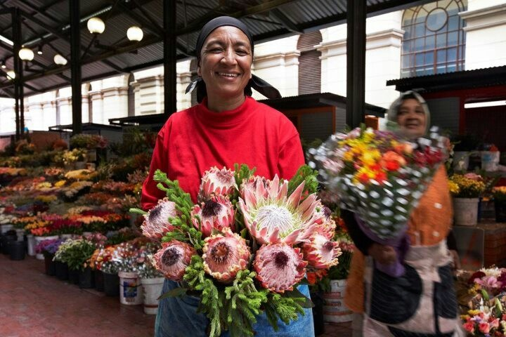 Flower Sellers Adderley Street