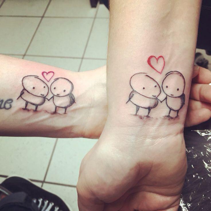 Friendstattoo Friends Tattoo partnertattoo freundschaftstattoo
