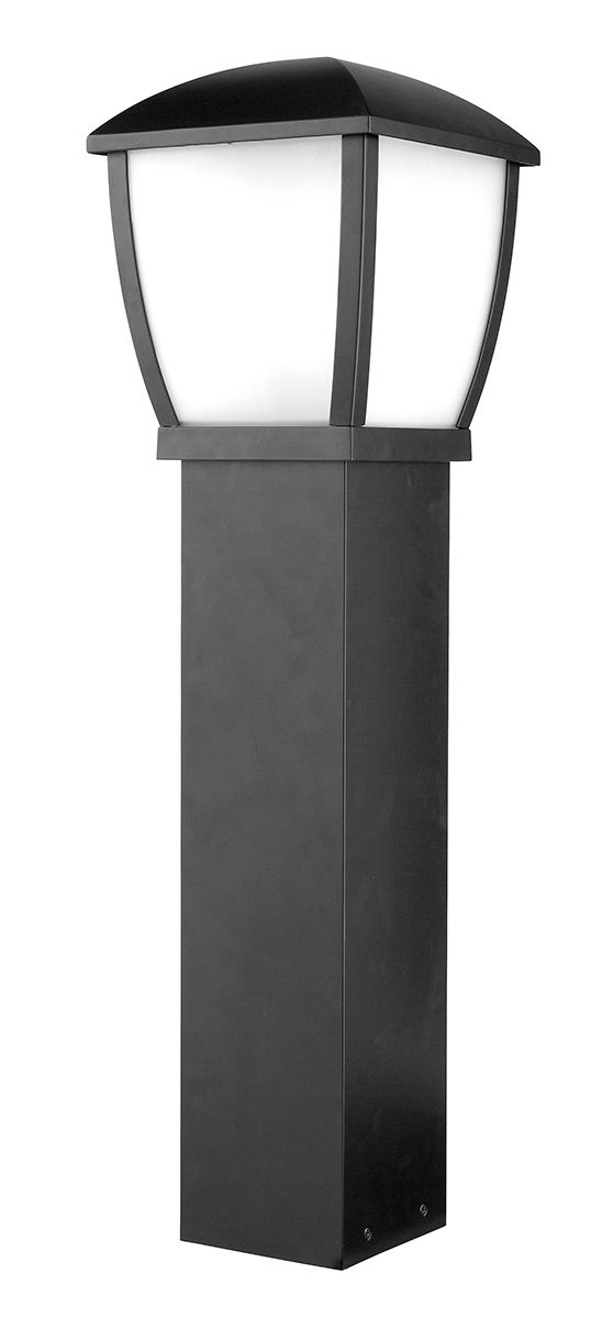 Ashby Modern Coach Bollard in Black