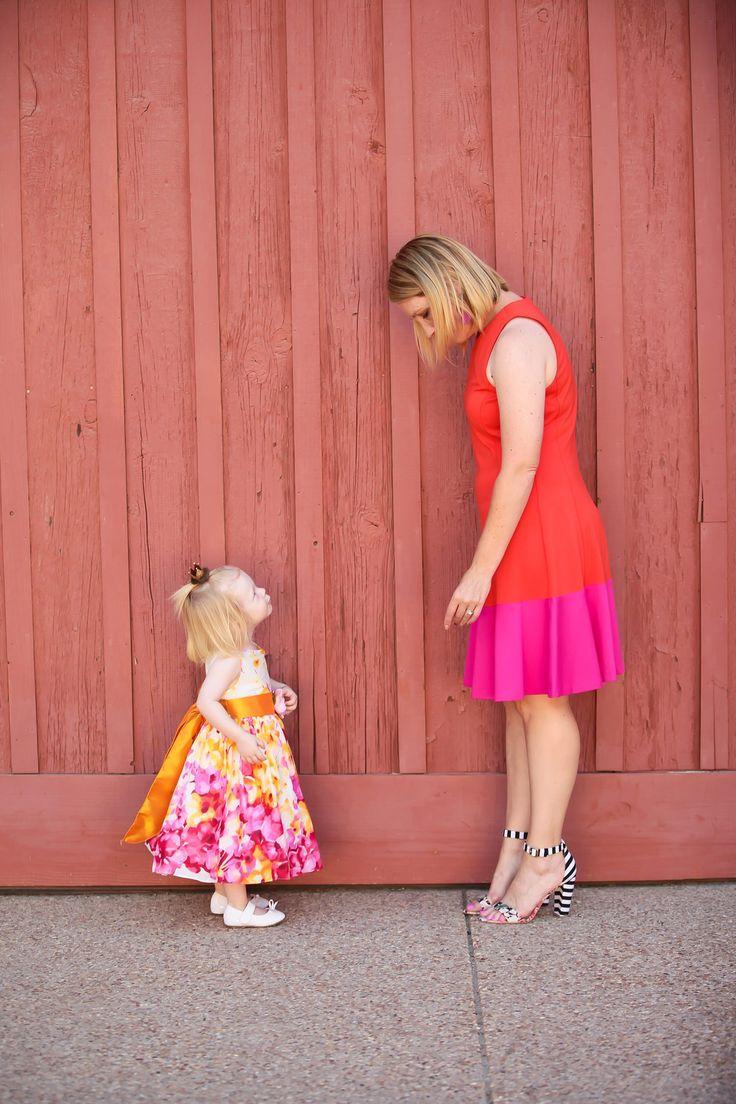eliza j colorblock dress