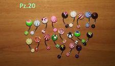 Piercing Per Ombelico Vari Colori Pz.20 | eBay