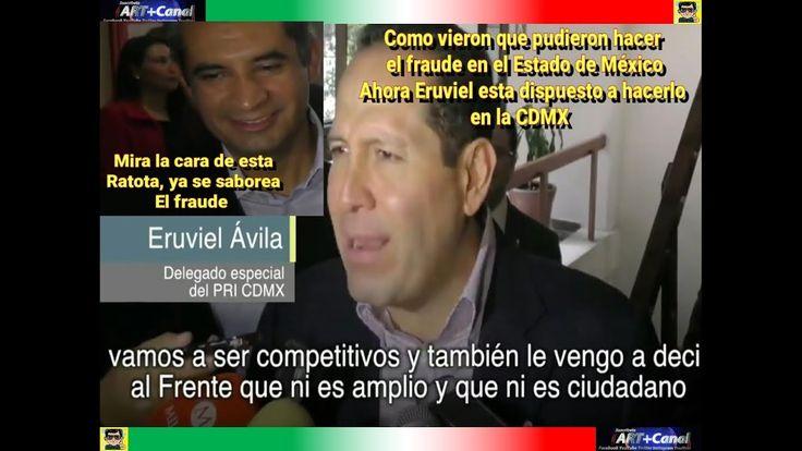 Eruviel llega a CDMX para hacer fraude como en Estado de Mexico