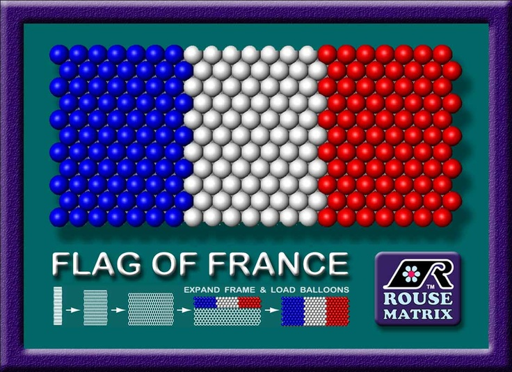 World Flags   ---   (001)  The flag of France is among a small group of national flags that have three simple, vertical bands of color.  We will be sharing these plus many more over the months ahead. You can get more information on this design at https://www.facebook.com/photo.php?fbid=408051199232174=a.408051179232176.81977.141718105865486=1 .  You can get background information on France at http://s06.flagcounter.com/factbook/fr/2K4F .    ----  VISIT http://JustRouseIt.com/RED to learn…