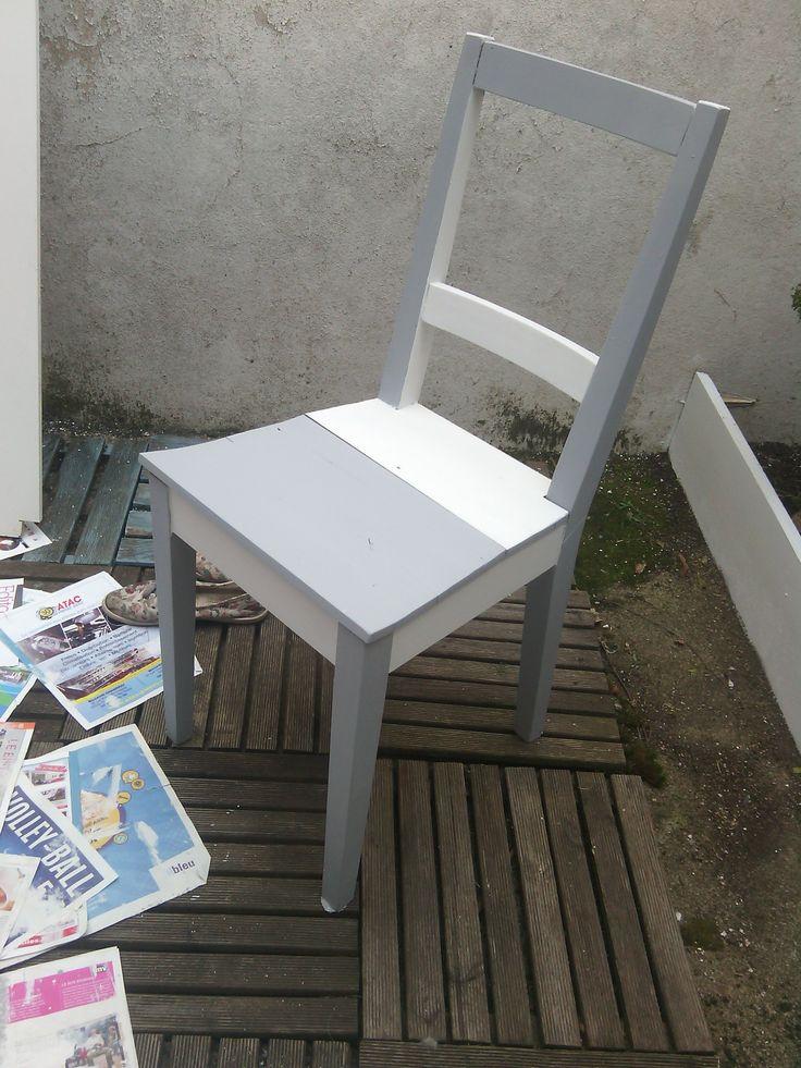 Ou comment récupérer une vieille chaise poussiéreuse :)