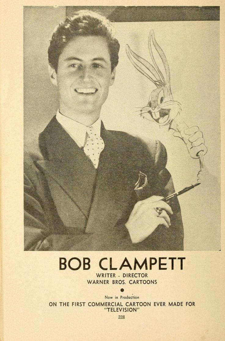 """BOB CLAMPETT. """"The Radio Annual,"""" 1945."""