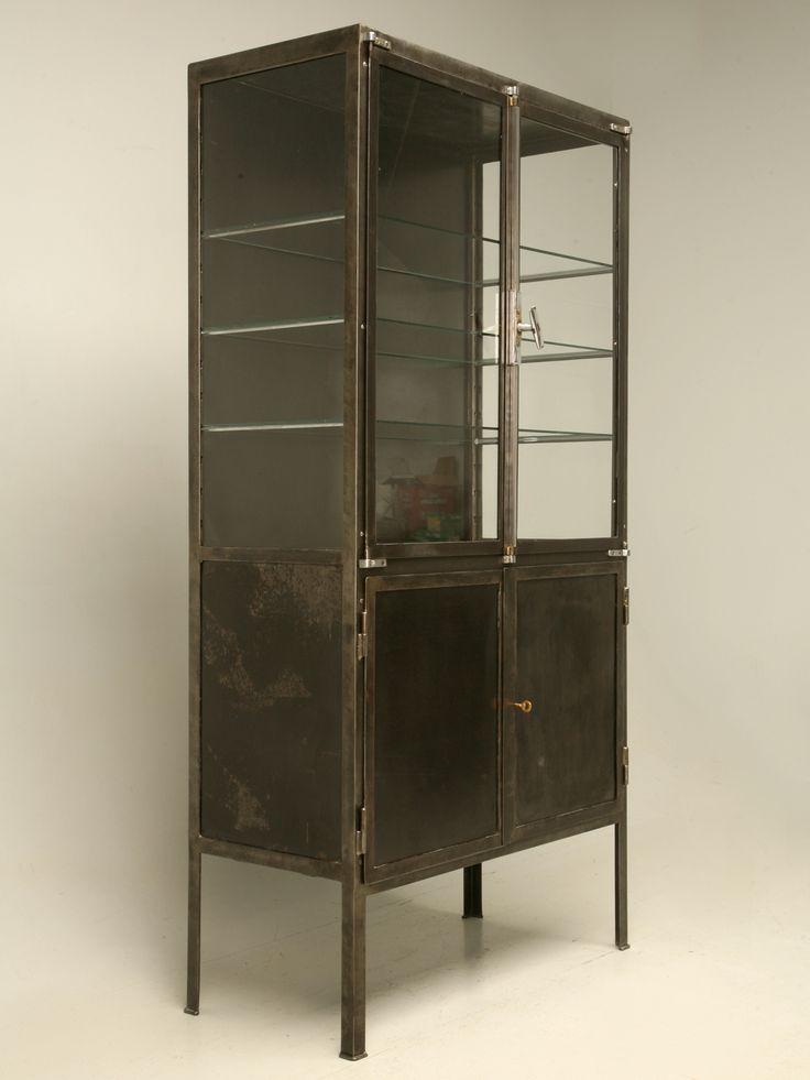 Les 401 meilleures images du tableau meuble industriel sur for Meuble cabinet industriel