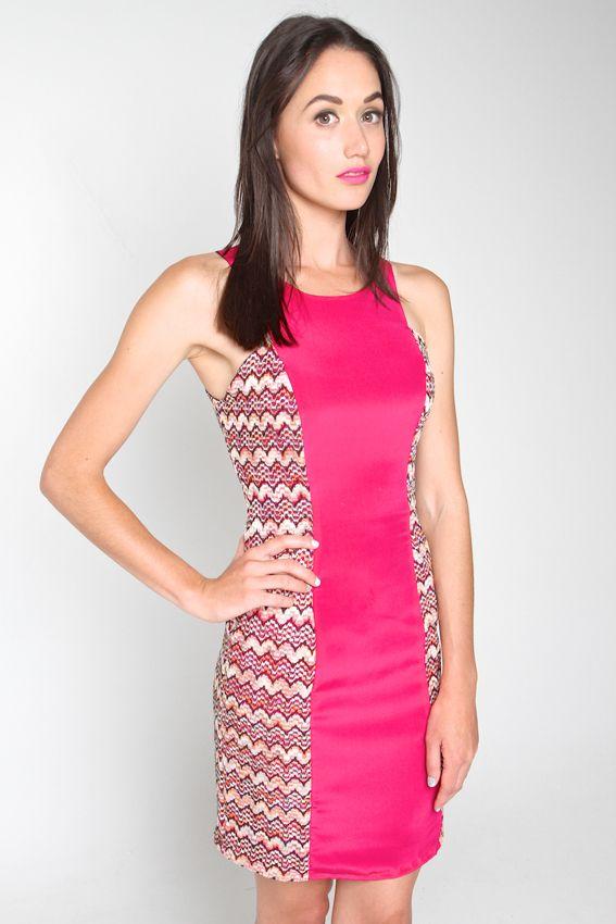 LOLLIPOP DRESS PINK | Amber Whitecliffe