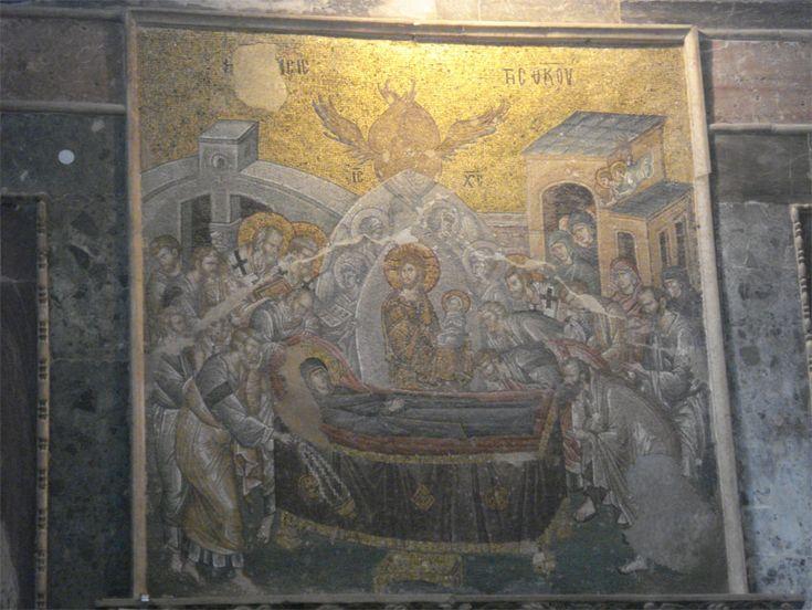 монастырь Хора (Константинополь) Успение Пресвятой Богородицы| PEMPTOUSIA