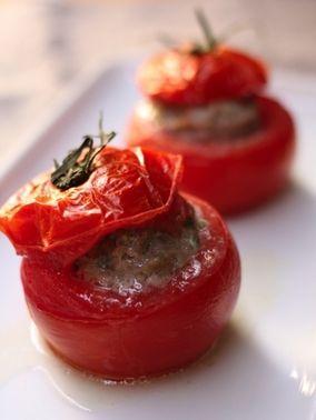 エスニック風トマトのファルシ  - トマト -     レシピブログ