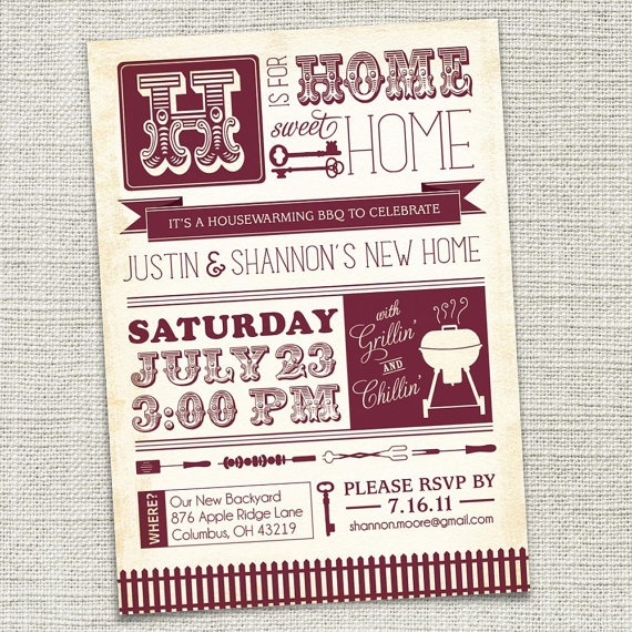833 best entertaining images on pinterest entertaining hilarious a housewarming party is a great excuse for a well designed invitation we love stopboris Choice Image