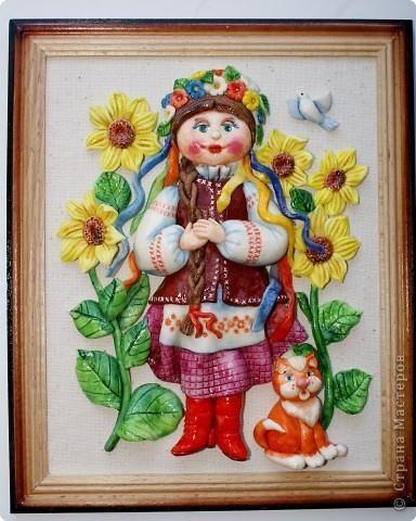 Рисование людей в украинском костюме